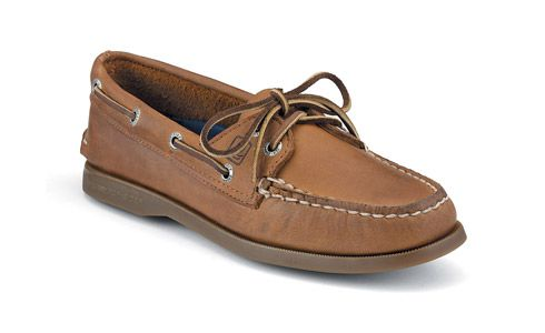 "sperry women's authentic original 2-eye boat shoe ""Created in 1935, the Authentic Original is the blueprint for the American boat shoe, and the cornerstone of Classic Nautical Style."" $75.00"