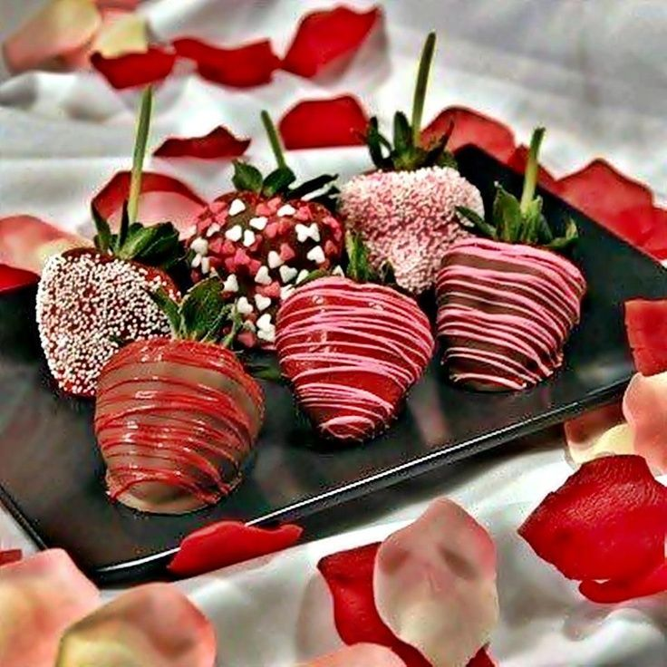 Chocolate Covered Strawberries a tradition from Mommy to her boys on Valentine's Day