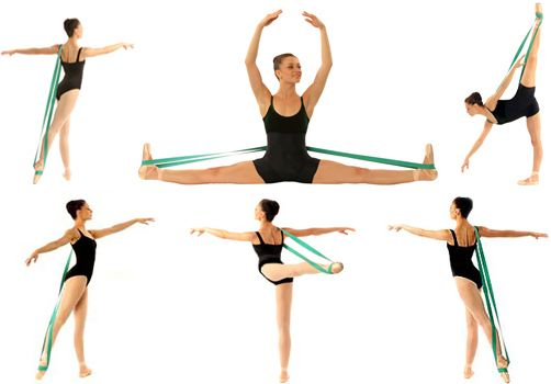 Balletband – Balletband – Hands Free Resistance Band for Dancers