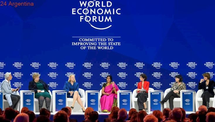 Desigualdad de género en Davos: solo el 21% de los participantes del Foro son mujeres