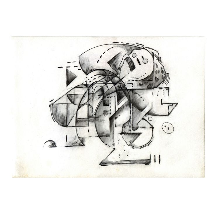 Penny Rimbaud Renaissance Drawing #4