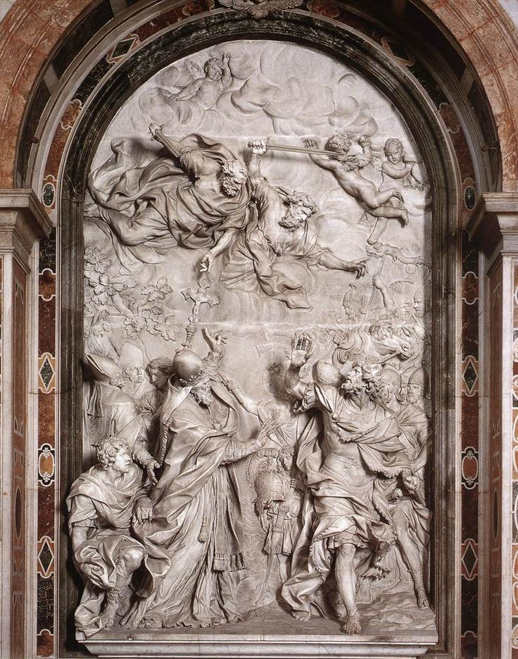 Alessandro_Algardi_Meeting_of_Leo_I_and_Attila_01 Ten Things You Did Not Know About Attila The Hun