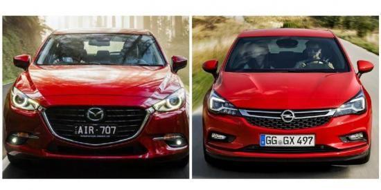 Lease-maar: Mazda 3 of Opel Astra
