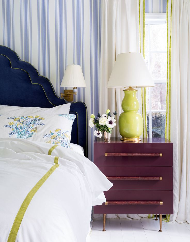appealing blue green bedroom decor | 269 best Decorating with Blue & Green images on Pinterest ...