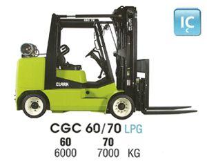 Clark CGC 60 IC Forklift