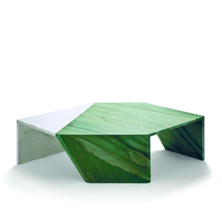 Origami Living Table, Marble - Patricia Urquiola @The Future Perfect - 25+ Best Ideas About Marble Coffee Tables On Pinterest Coffee