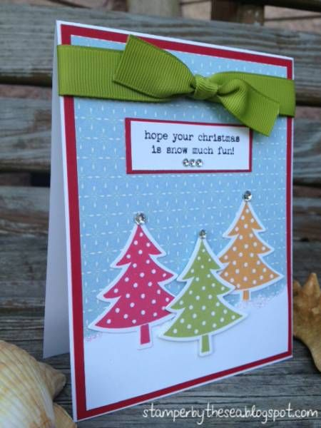 Snow Much Fun by ChillOutAndStamp - Cards and Paper Crafts at Splitcoaststampers