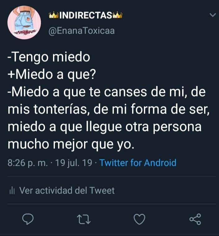 Indirectas Twitter Argentina Frases De Amor Frases