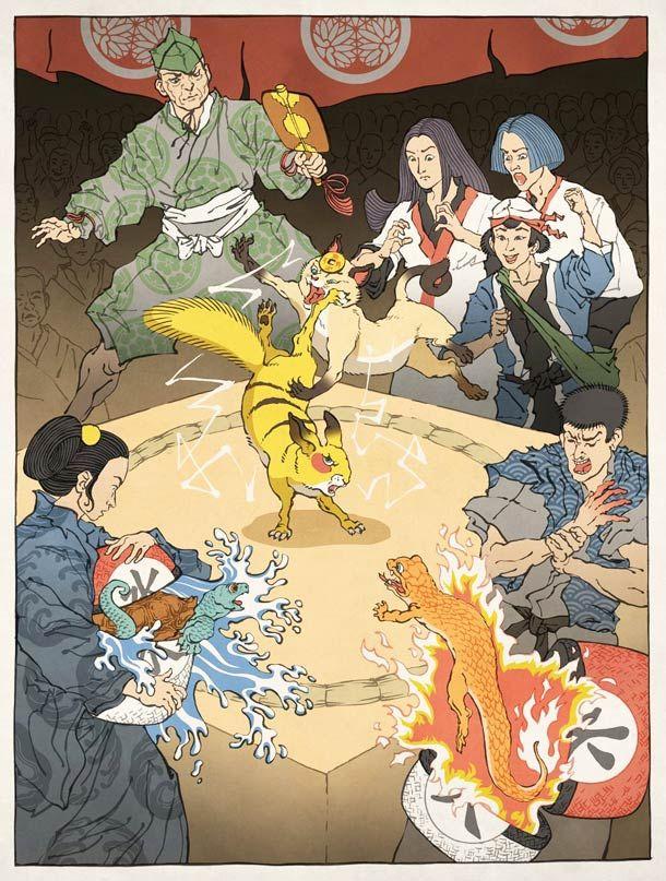 11 JEUX VIDÉO CULTES VERSION JAPON MÉDIÉVAL
