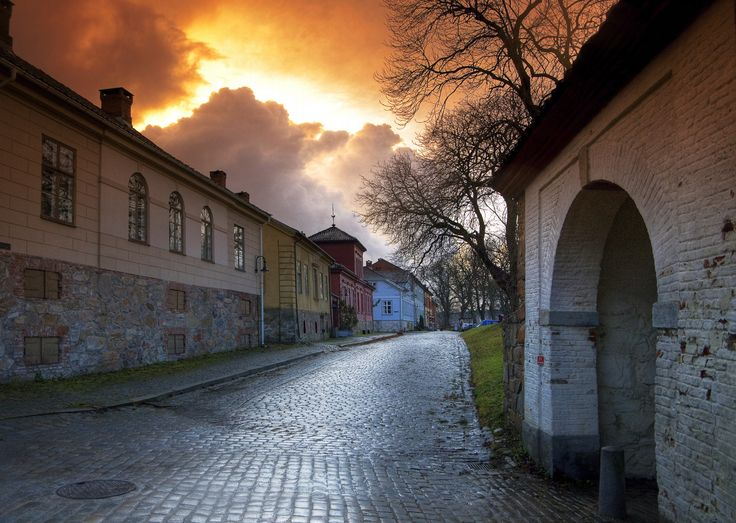 The old town (Gamlebyen) of Fredrikstad, a city in southern Norway. The city was founded in 1567 on the east side of the river Glomma as a part of the defense against Sweden. Photograph by Tomas  Eidsvold Eriksen on 500px