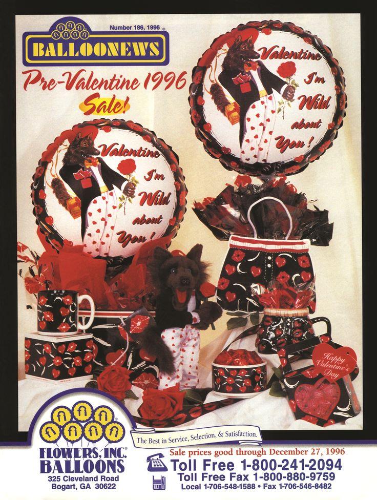 BALLOONEWS: Pre-Valentine 1996 #burtonandburton