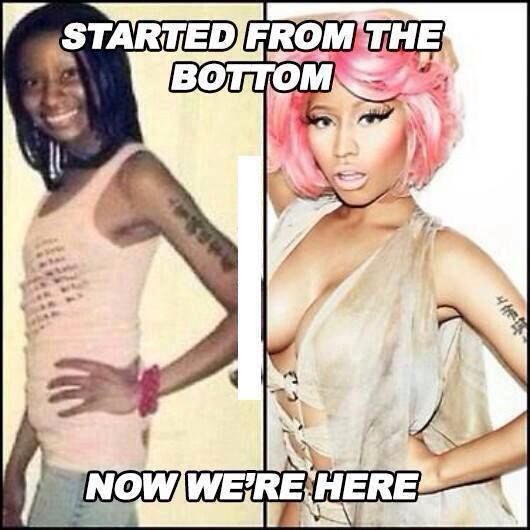 Nicki Minaj transformation