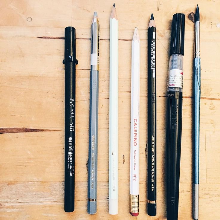 #kgobehindthescenes: Wonderful tools that help me make magic . These are some of my favourite pens markers or pencils that seem to bring out your creativity. Very well loved very much used