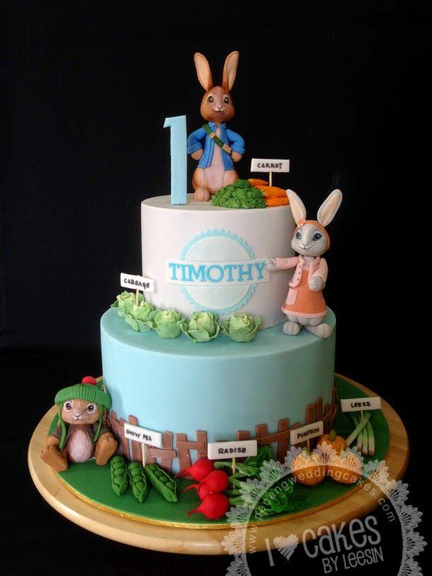 Peter Rabbit Birthday Cake Australia