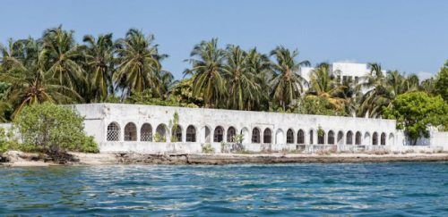 Abandoned island homes of Colombian drug lords.