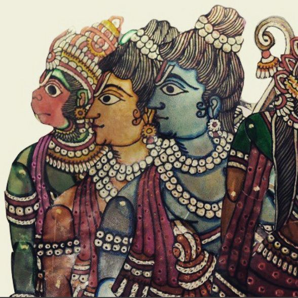 Rama, Laksmana and Hanunama