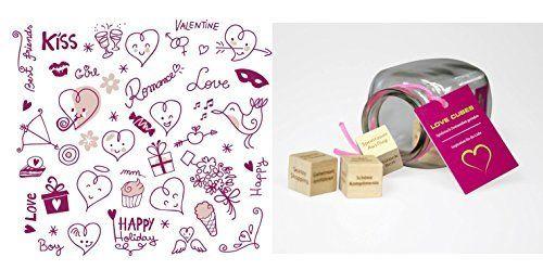 Dieses Geschenk mit über 45.000 Verwöhnideen könnte ihren Partner verrückt machen. LOVE CUBES - Inspiration für die Liebe. Die ausgefallene Geschenkidee!