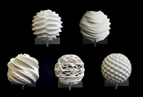 3D Printed sculpture