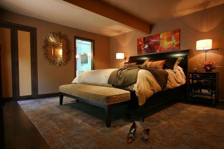 warm master bedroom. Black Bedroom Furniture Sets. Home Design Ideas