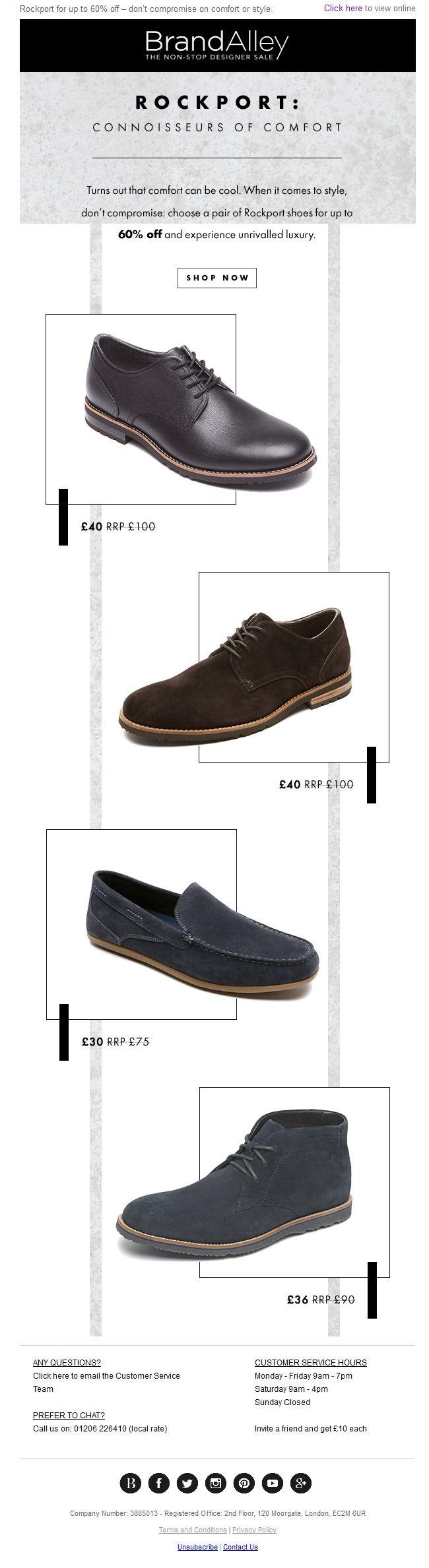 rockport shoes newsletter newsletters samples 954830