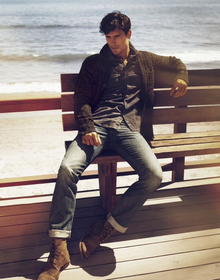 casual style: Men Clothing, Casual Style, Fashion Clothing, Fashion Style, Men Style, Men Fashion, Men Outfits, Men Casual, Casual Boots