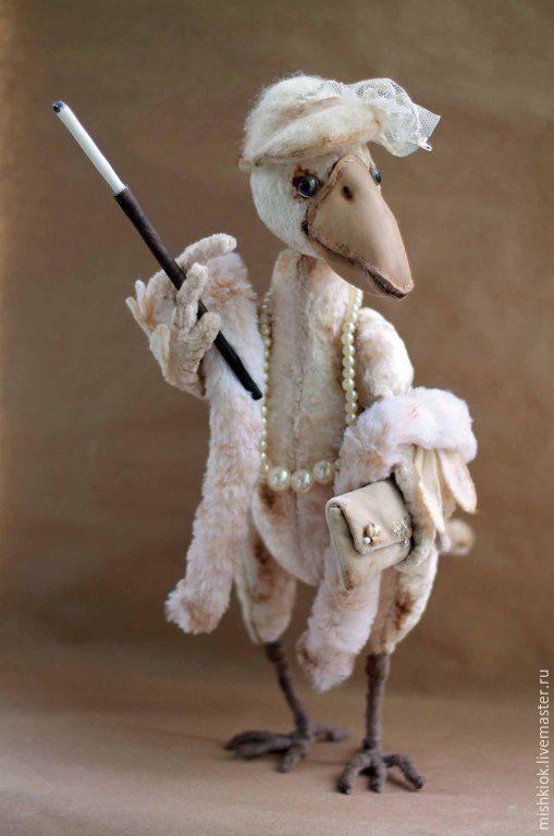 Купить Жизнь удалась!.. - белая ворона, ворона, ворона тедди, ворона из плюша…