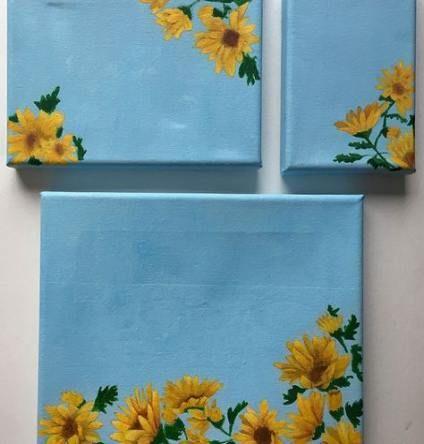Simple Flower Painting