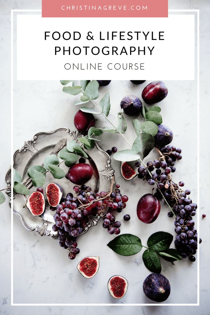 FOOD & LIFESTYLE Photography – Exclusive 6-Module Course
