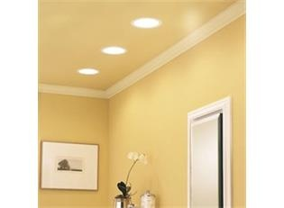 Beautiful Recessed Fan Light would be great in the kitchen too