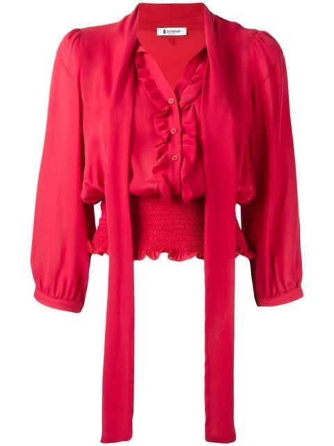 DONDUP Блузка С Оборками И Бантом. #dondup #cloth #бантом
