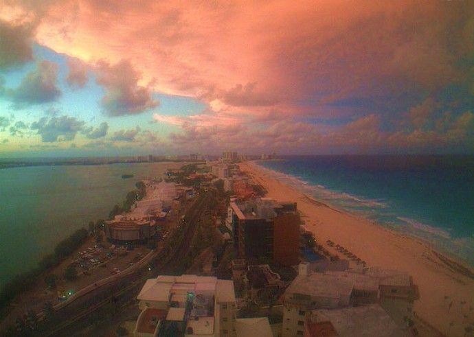 Cómo estará el clima en Cancún para las vacaciones