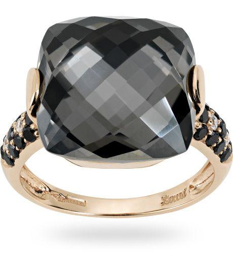 Anello in oro rose 18 kt. con 0.04 ct. di diamante