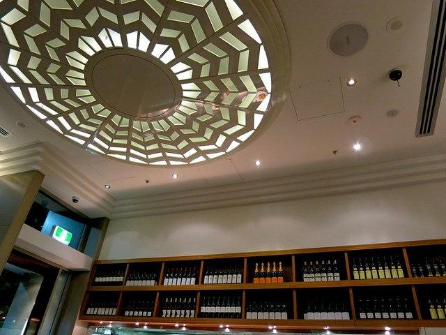 The light and the wine in Cream Canberra - by Kelly from Shanghai