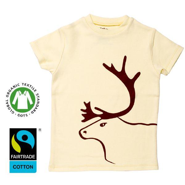 www.klappi.se #Ekologiskabarnkläder från #Lappland #norrland. #eko #ekoreko #ekologisk #svenskdesign #ekokläder #giftfritt #kläppi #klappi.se Product: #t-shirt #tshirt #yellow #gul #Lapland #reindeer #ren. #eco #oekotex100 #lovefromlapland #swedishlapland #fairtrade #organiccotton #organic #scandinavian #schwedischen #organickidswear #kidsfashion #sustainablefashion #sustainable #gots #swedish #swedishdesign #swedishbrand