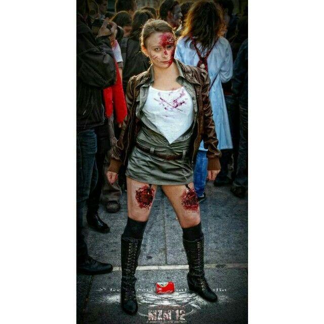 Vero 2 marcha zombien madrid 2012