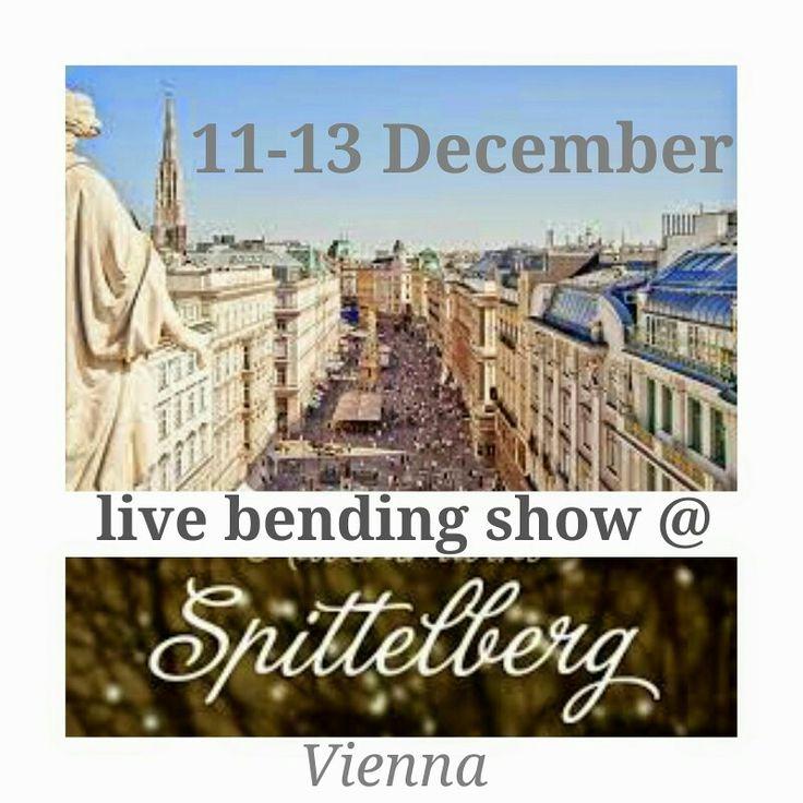 live bending show session 2 #Spittelbergweihnachtsmarkt