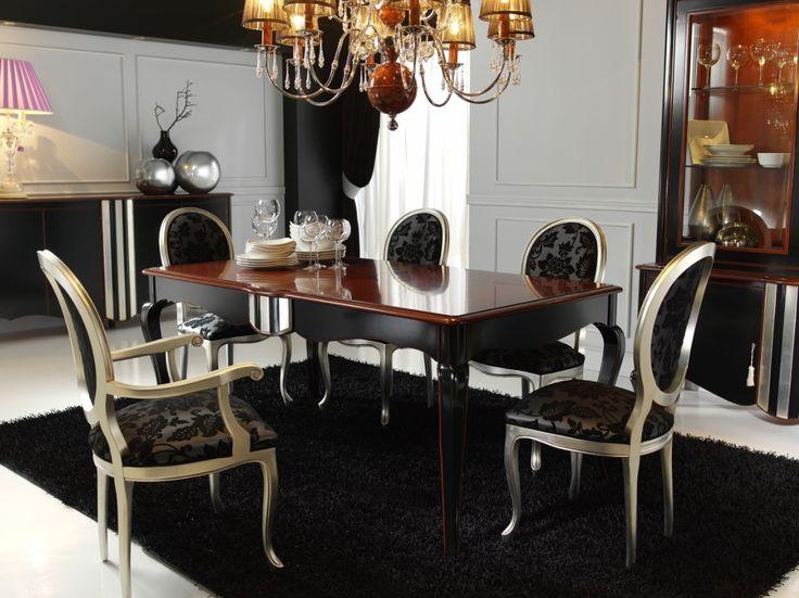 Decorar el salón con sillas clásicas - http://www.decoluxe.net/2015/01/15/decorar-el-salon-con-sillas-clasicas/