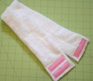 Sew Fabulous: DIY Velcro Spa Headband