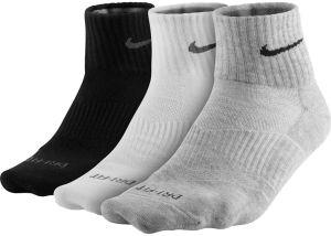 Nike SX4847 3PPK D-F Lightweight Qtr 3lü Çorap