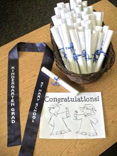 Kindergarten graduation supplies