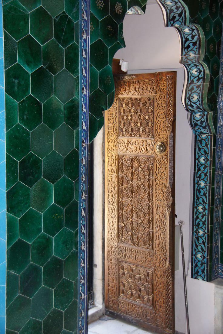 Bursa, Turkey - The Green Mosque (Yesil Cami) (photo by Peggy Mooney)