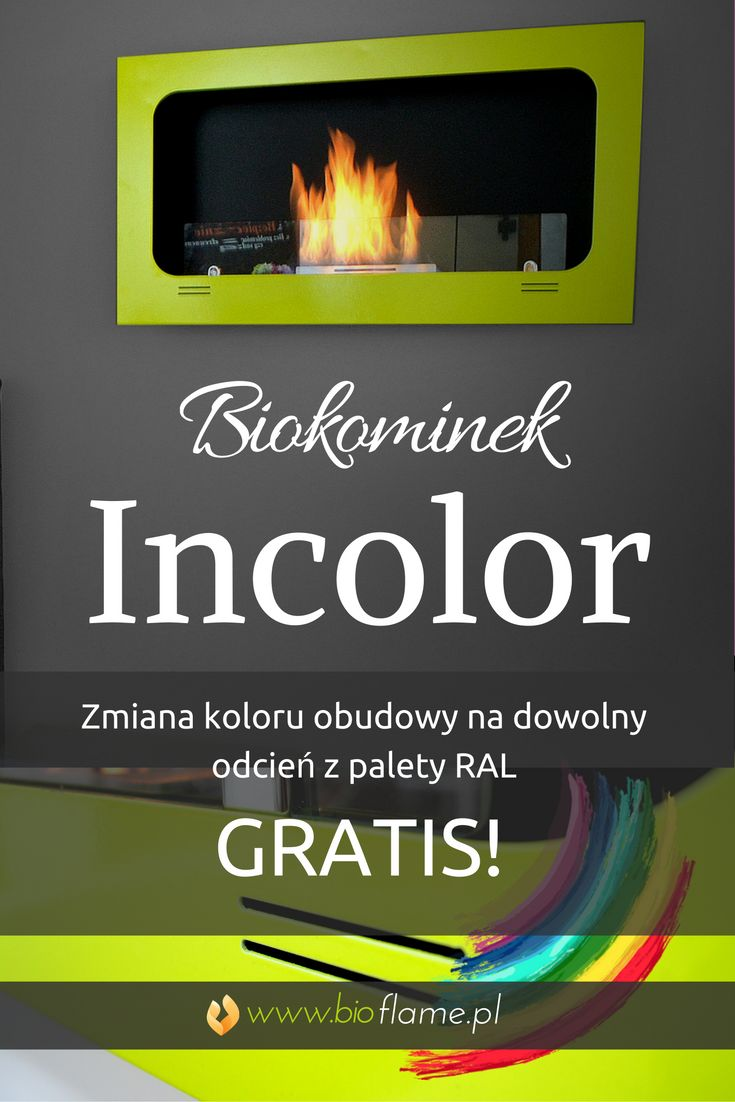 Biokominek wiszący Incolor. Zmiana koloru obudowy GRATIS! https://www.bioflame.pl/produkt/biokominek-wiszacy-incolor/