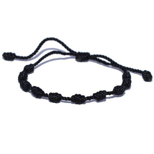 Black Decenario Knotted Thread Bracelet Hip Hop Kanye West Knotted. $3.99. Colorful. Adjustable length. Easy to wear. Sylish. Handmade