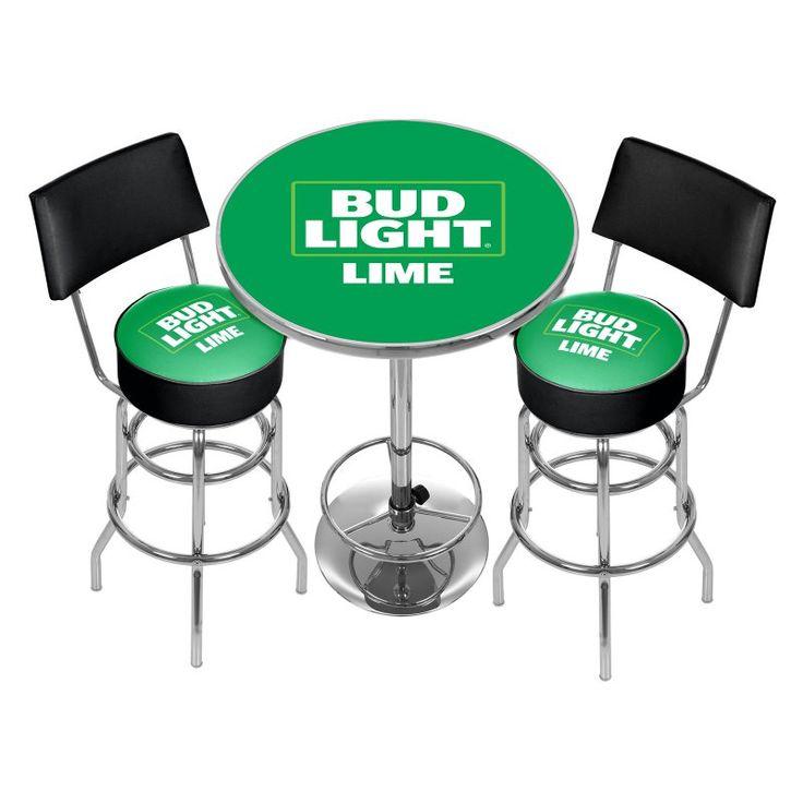 Trademark Bud Light Lime Ultimate Gameroom Combo - 3 Piece - AB9900-BLLIME