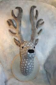 Resultado de imagen de fabric deer head pattern