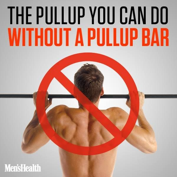 Pullup without a bar... handy.