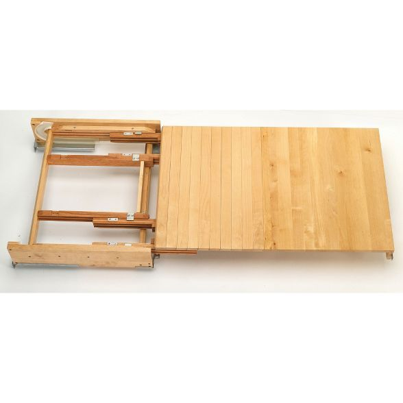 Rev A Shelf 4tt 2133 1 31 75 Inch Wood Pull Out Tambour Table Kitchen Counter Extension With Slide For 24 Inch Drawers Natural Maple Rev A Shelf Shelves Tambour