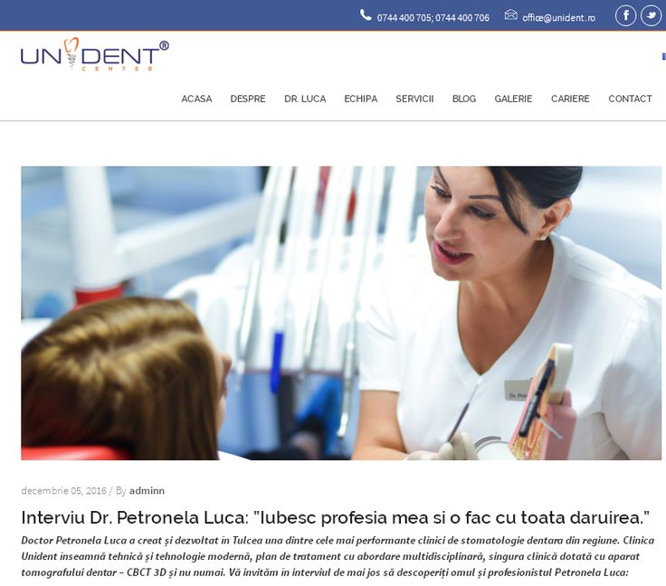 http://www.unident.ro/interviu-dr-petronela-luca/