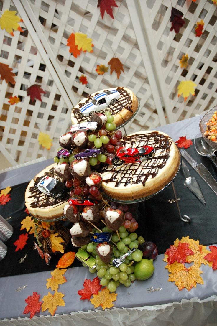 My husbands Groom Cheese Cake Yummy Weddings Pinterest