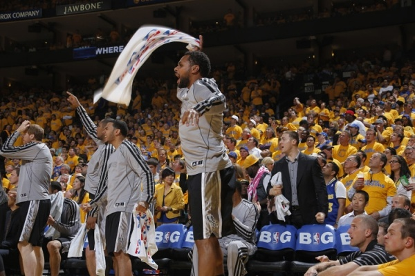 ♥ Patty Mills!  Spurs vs. Warriors 5/10/2013 | THE OFFICIAL SITE OF THE SAN ANTONIO SPURS